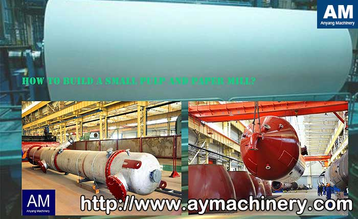 pulp and paper mill main equipment
