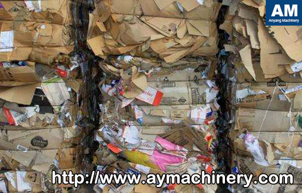 Waste paper resources
